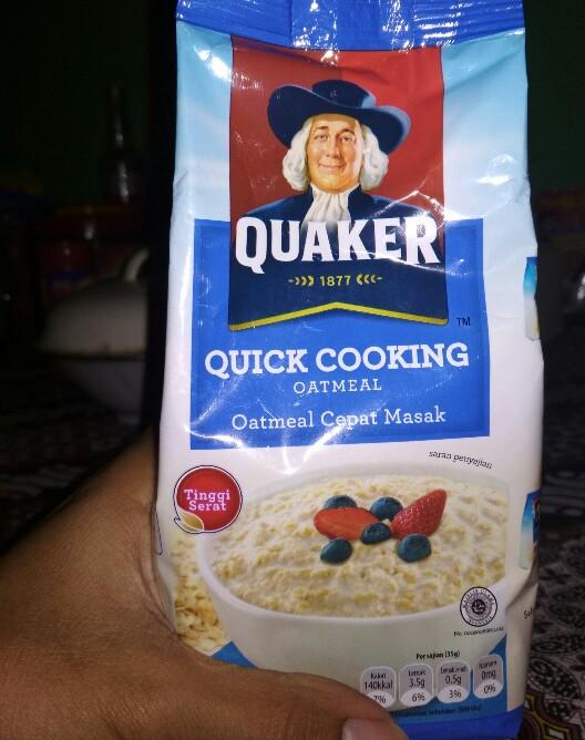 Review Quaker Quick Cooking Oatmeal Makanan Cepat Saji Yang